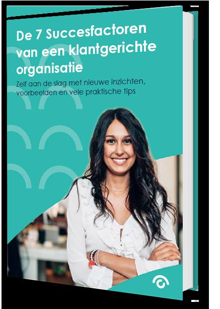 E-book: 'De 7 succesfactoren van een klantgerichte organsiatie'